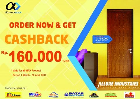 Promo Cashback!